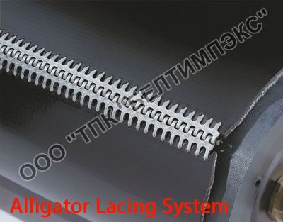 Замки для лент Alligator Lacing System